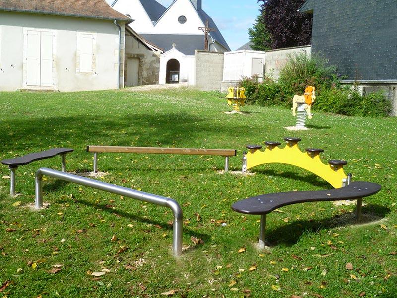 Aire de jeux à Saint-Eloy-de-Gy